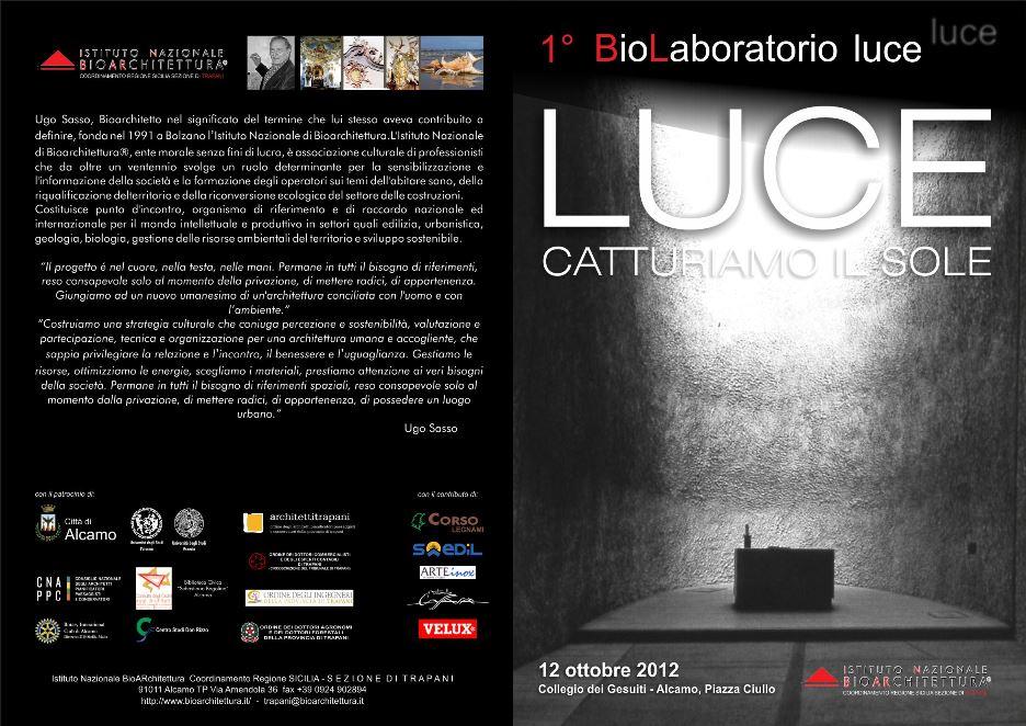 Primo BioLaboratorio - Luce