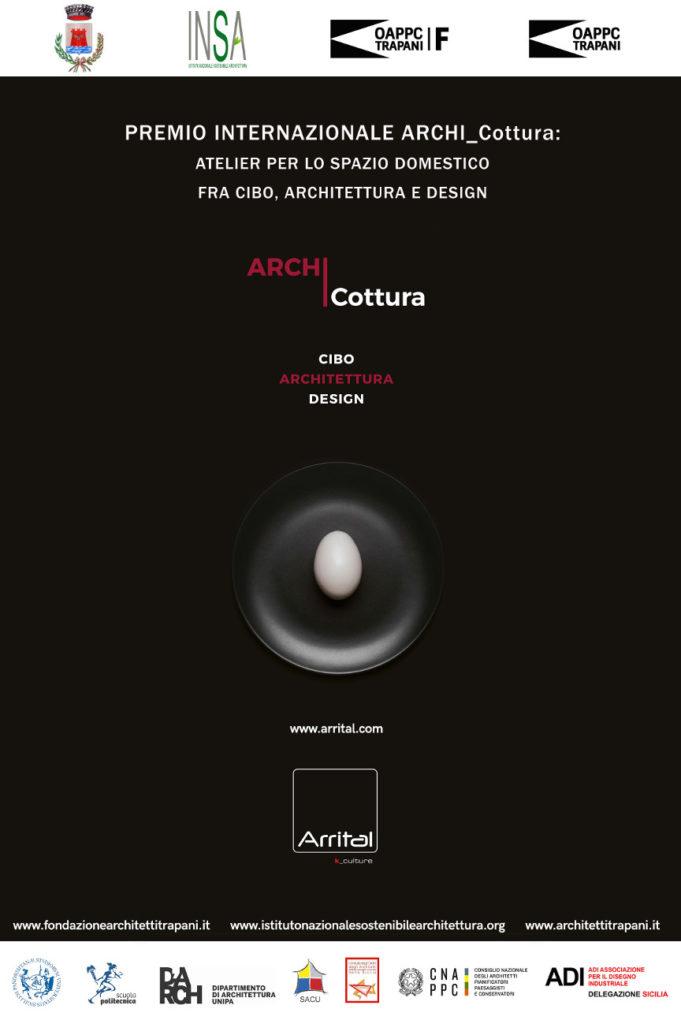 Locandina premio Internazionale Archi-Cottura