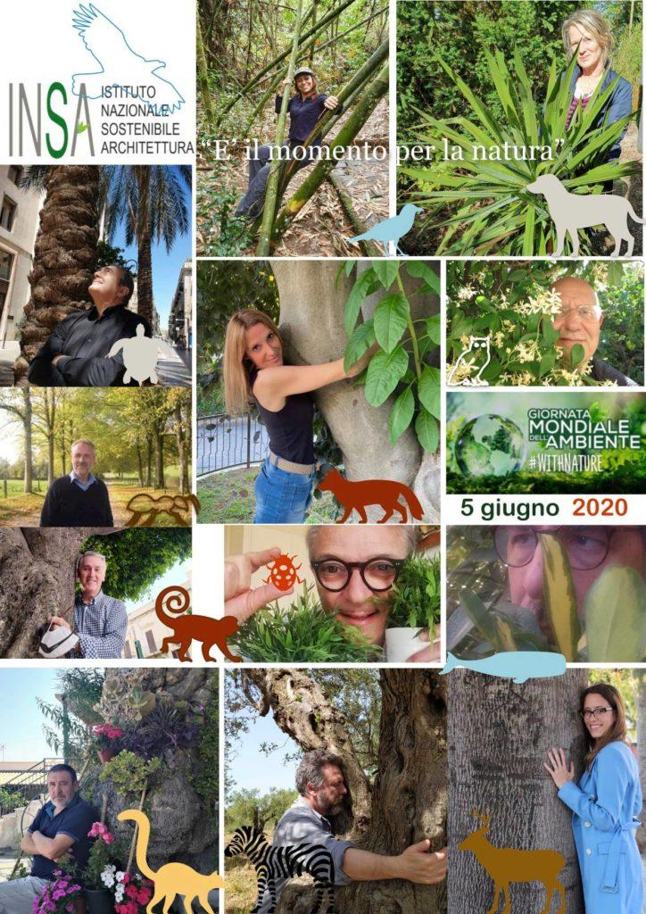 Festa degli alberi - manifesto INSA